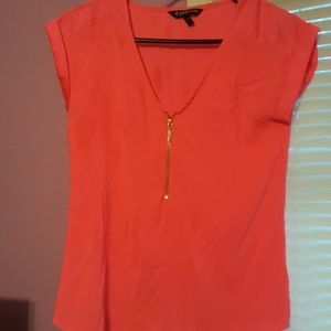 Xs pink blouse. Super cute in person